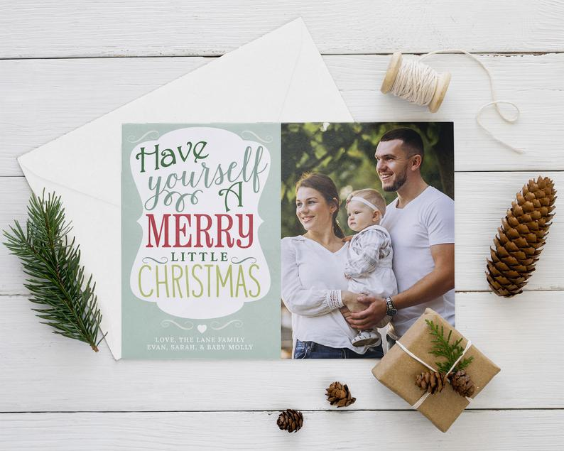 A Merry Little Christmas Card image 0
