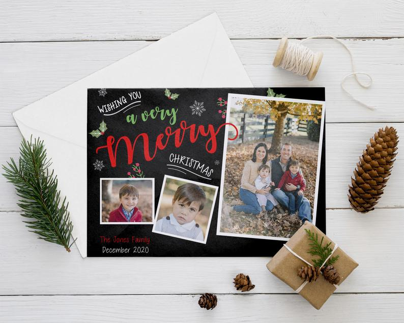 A Very Merry Christmas Card image 0