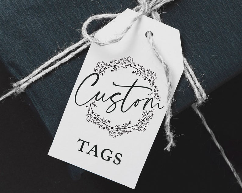Custom Wedding Favor Gift Tags Personalized Thank You Treat image 0